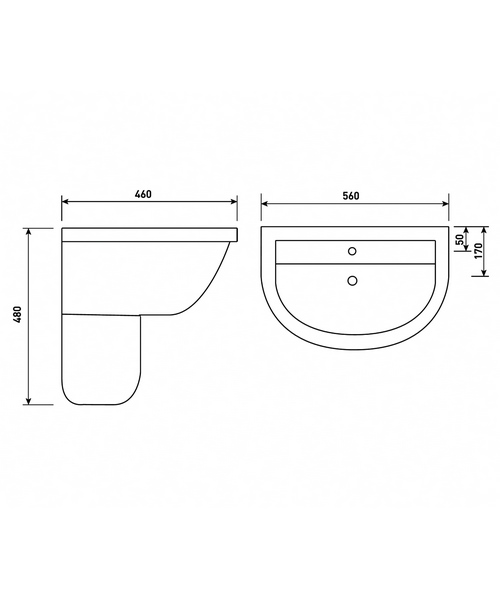 Technical drawing 40738 / EM060