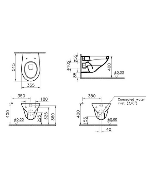 Technical drawing 40777 / 6107L003-0075