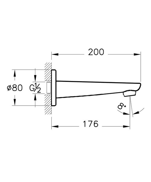 Technical drawing 40780 / A40699VUK