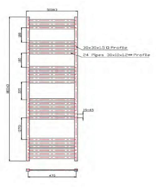 Technical drawing 40790 / EA005