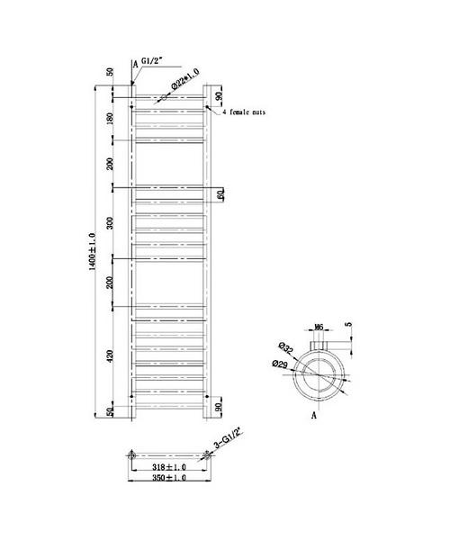 Technical drawing 40884 / RA074