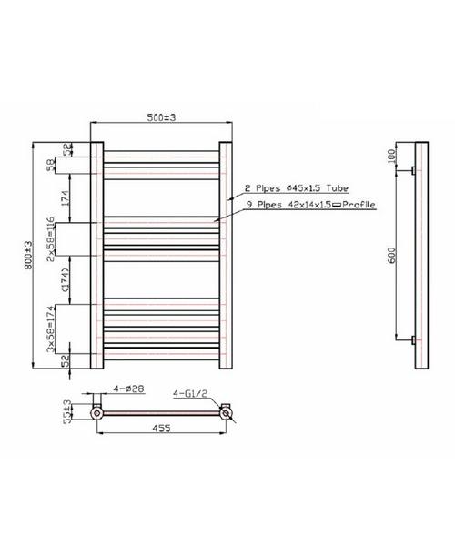 Technical drawing 40898 / RA170
