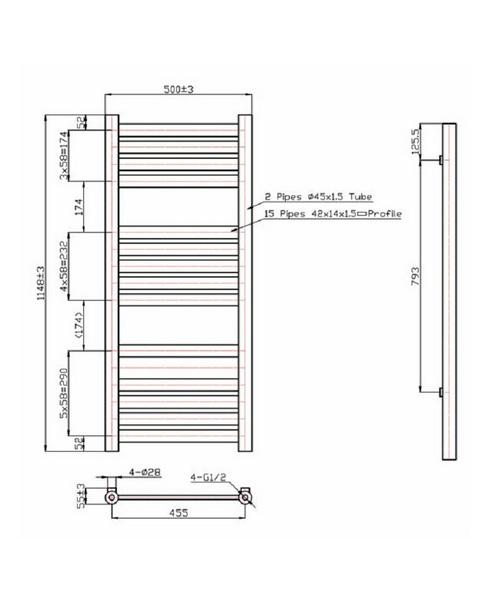 Technical drawing 40899 / RA171