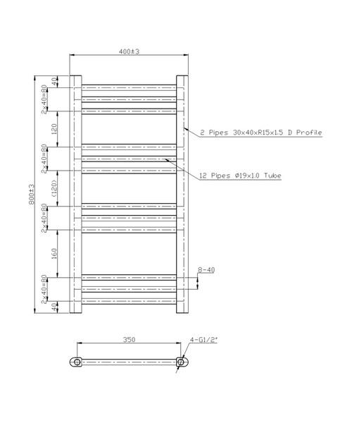 Technical drawing 40940 / RA200