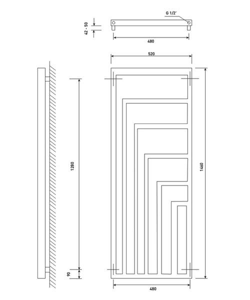Technical drawing 40968 / RA270