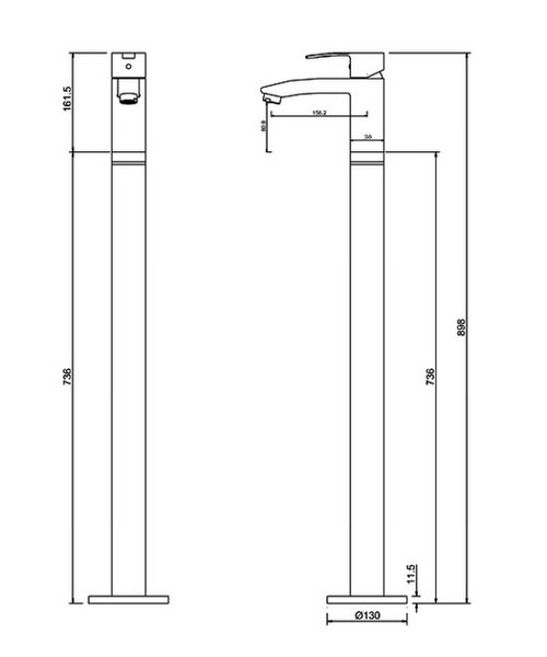 Technical drawing 41002 / CTA14