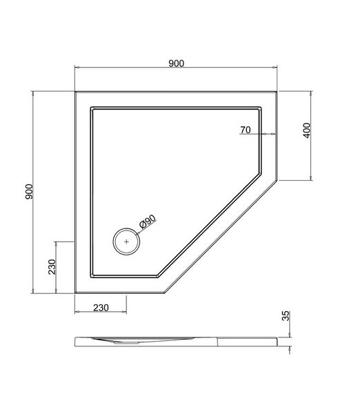 Technical drawing 41034 / Z1191