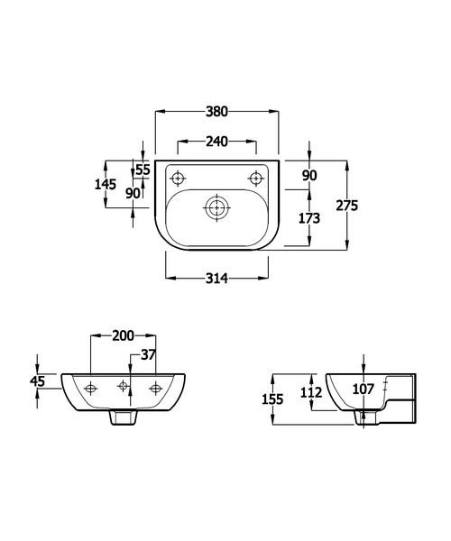 Technical drawing 41115 / EC4007
