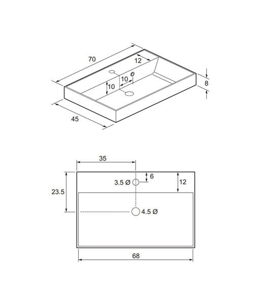 Technical drawing 4155 / DE0003SRW