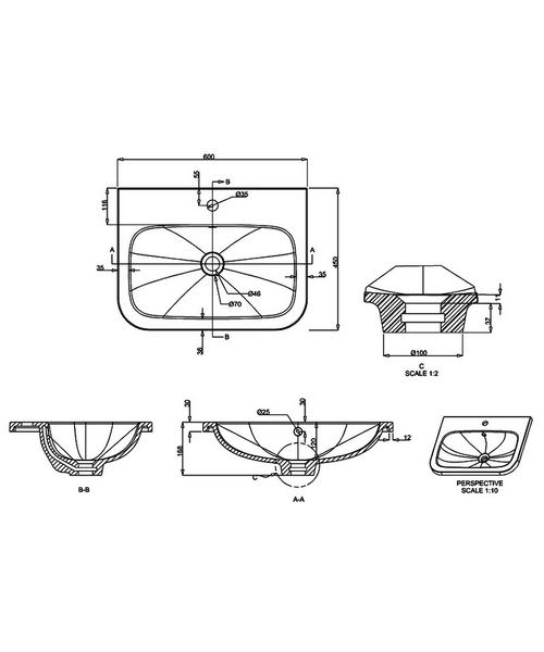 Technical drawing 42065 / Q6045G