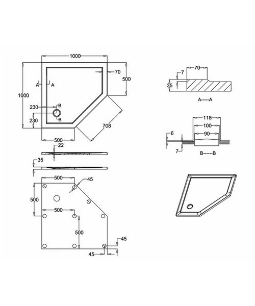 Technical drawing 42207 / Z1246