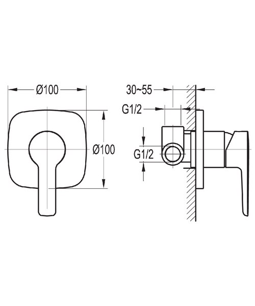 Technical drawing 43022 / URSHVOS
