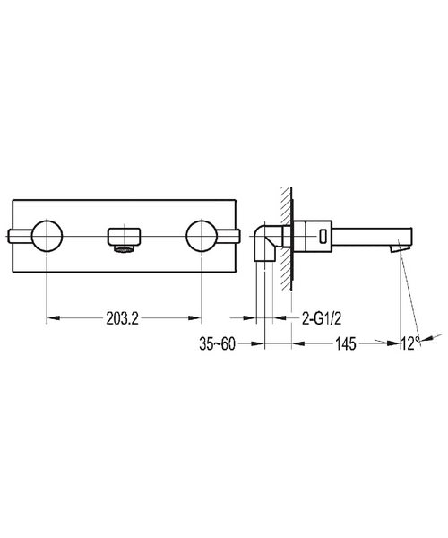Technical drawing 43039 / ST3HWMBAS