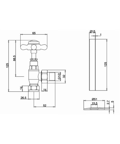 Technical drawing 43227 / R6 CHR