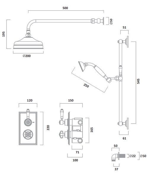 Technical drawing 43590 / SVA1615