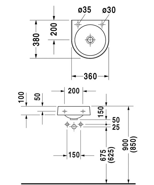 Technical drawing 4430 / 0766350009