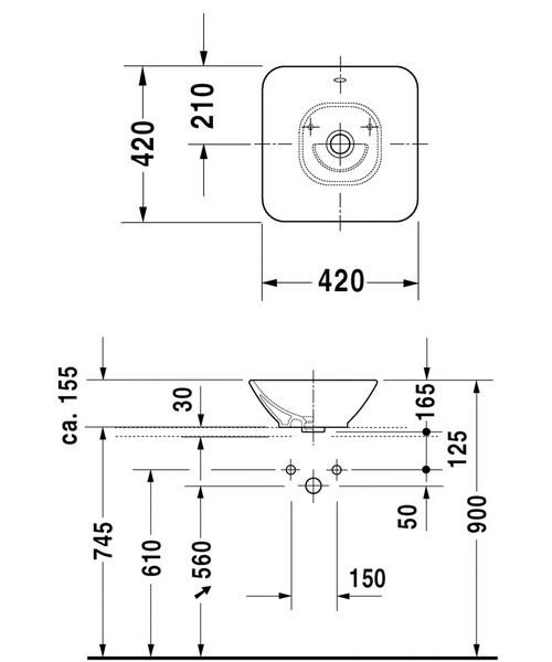 Technical drawing 4460 / 0333420000