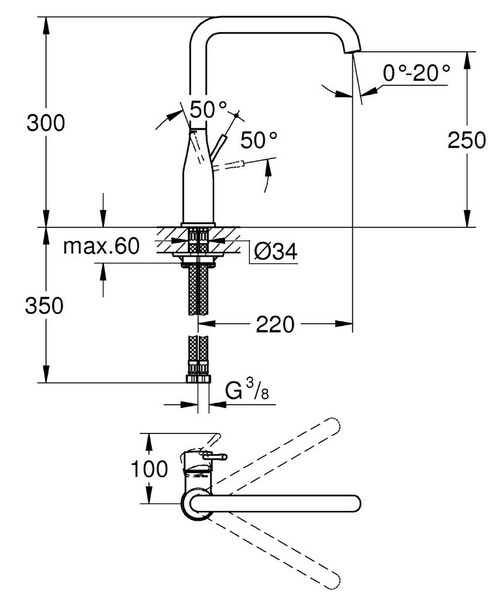 Technical drawing 44882 / 30269DC0