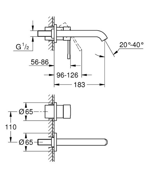 Technical drawing 44885 / 19408001