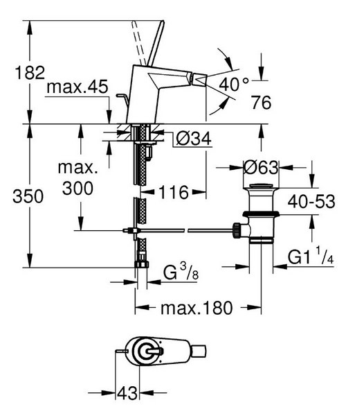 Technical drawing 44902 / 24036LS0