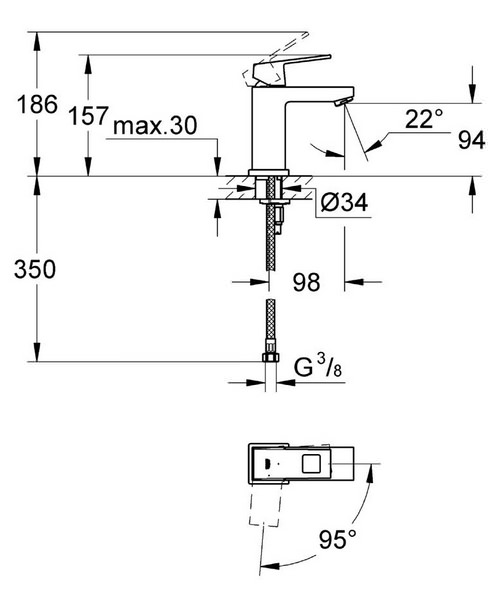 Technical drawing 44911 / 2339200E