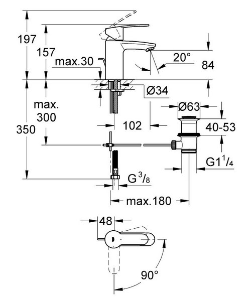 Technical drawing 44943 / 2337420E
