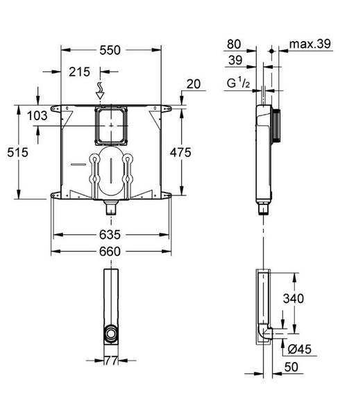 Technical drawing 44947 / 38863000
