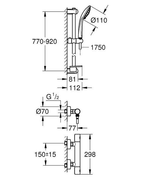 Technical drawing 44952 / 34321002