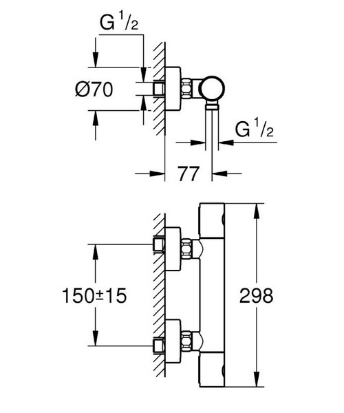 Technical drawing 44953 / 34440002