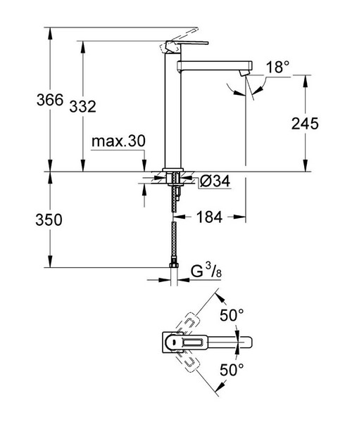 Technical drawing 44990 / 23404000