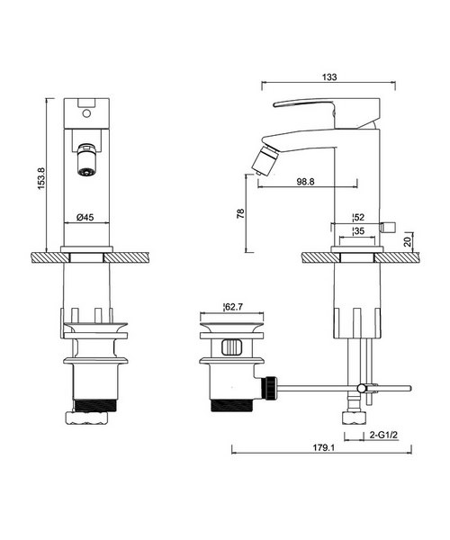 Technical drawing 45006 / CTA13