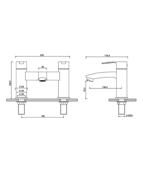 Technical drawing 45008 / CTA15