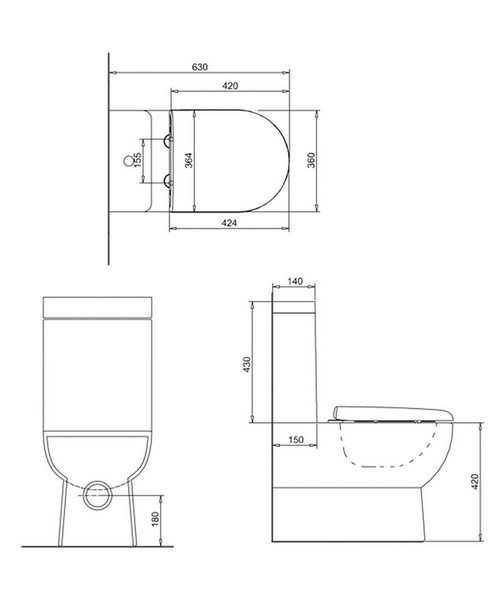 Technical drawing 45098 / CM.0006