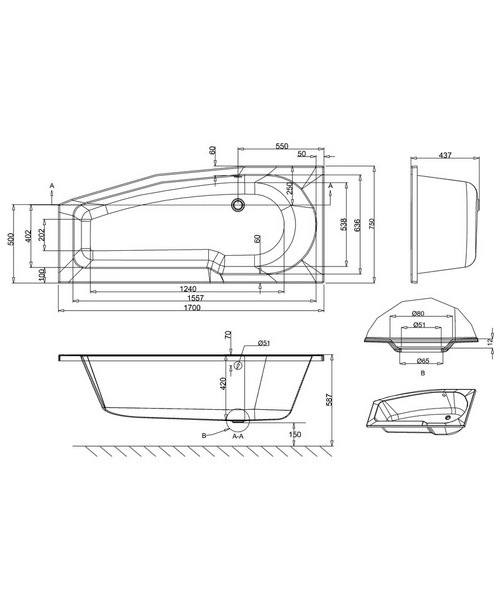 Technical drawing 45110 / R15