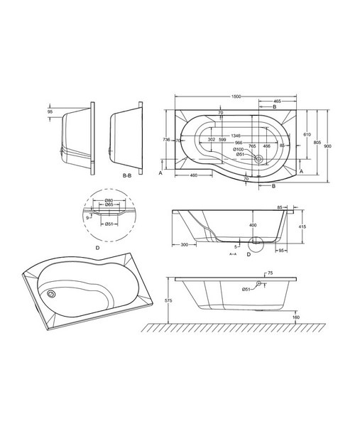 Technical drawing 45115 / R20