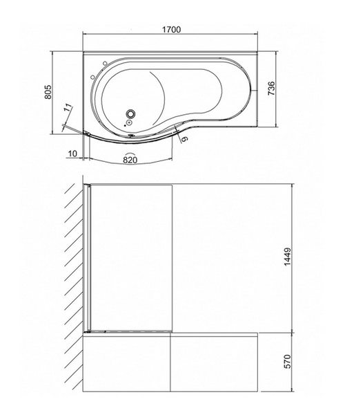Technical drawing 45127 / BS7