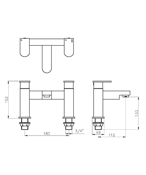 Technical drawing 45187 / AB1012