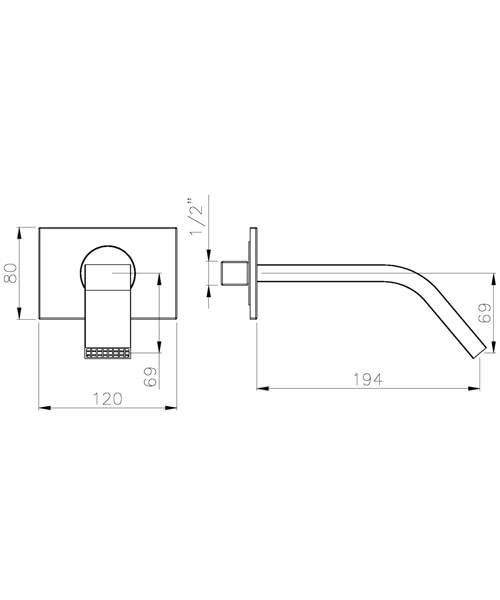 Technical drawing 45233 / AB2460