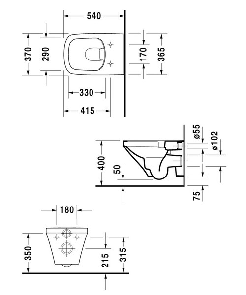 Technical drawing 4536 / 2538090000