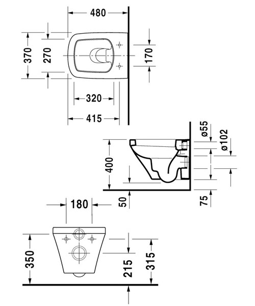 Technical drawing 4537 / 2539090000