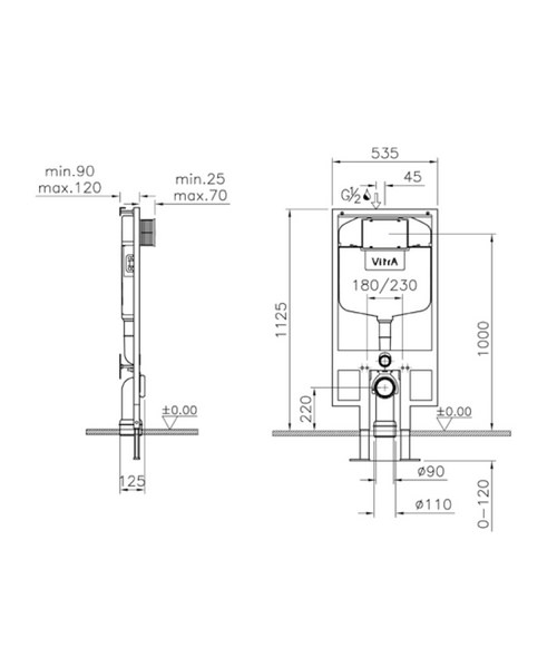 Technical drawing 45413 / 740-5800-02