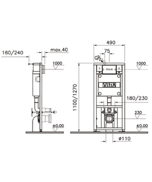Technical drawing 45414 / 742-5800-02
