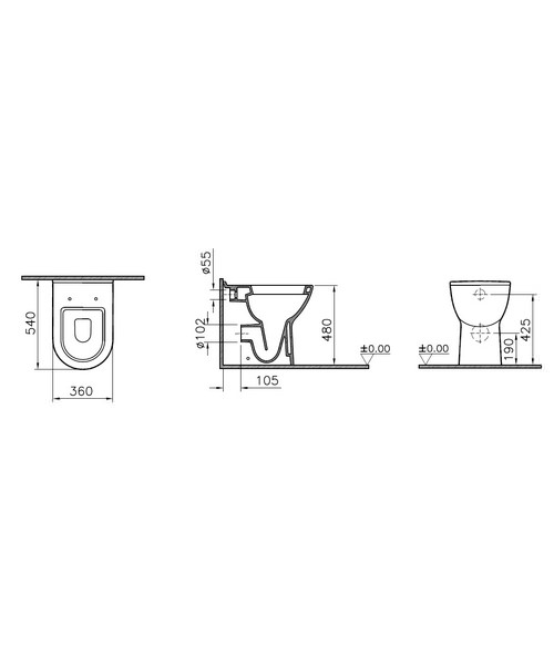 Technical drawing 45419 / 5369L003-0075