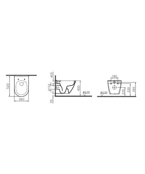 Technical drawing 45420 / 7740B003-0075