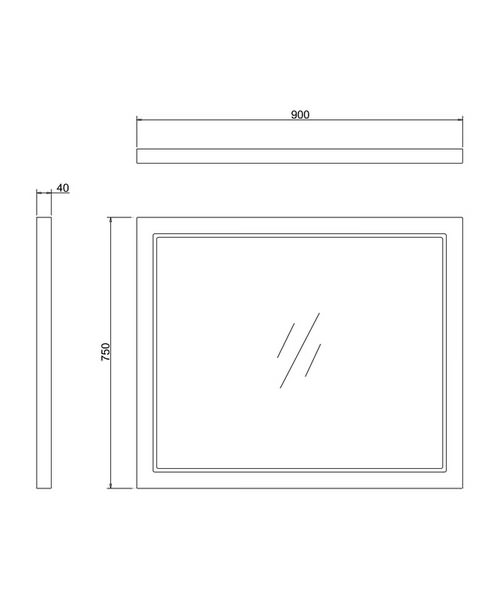 Technical drawing 45821 / M90G