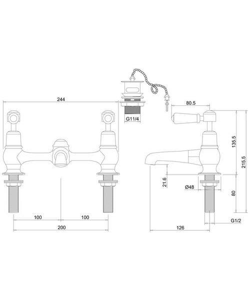 Technical drawing 45871 / KE10