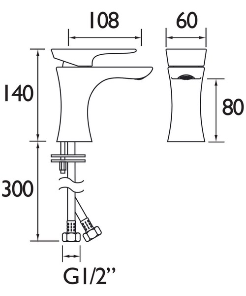 Technical drawing 46710 / TLYCG04