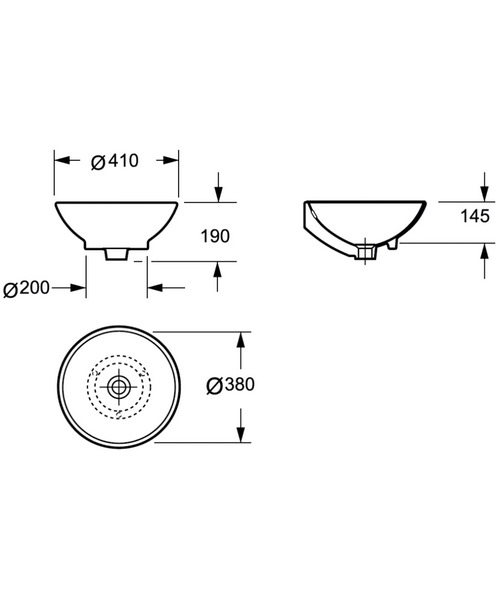 Technical drawing 46843 / LW1057