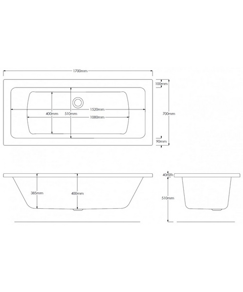 Technical drawing 46862 / PBSQDE17X70