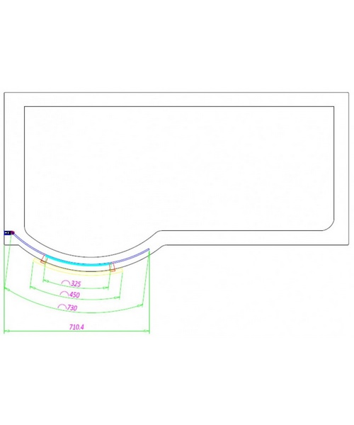 Technical drawing 46881 / PBCUSBS